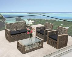 Outdoor Wicker Patio Furniture, Wicker Chairs, Rattan, Outdoor Decor, Hand Weaving, Traditional, Type, Wood, Classic