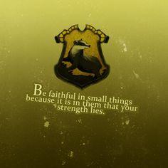 Harry potter 30 day challenge- day 9- favorite Hogwarts house- hufflepuff