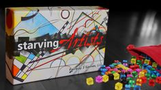 Starving Artists is an award-winning game in which you are a paint-by-cube artist trying to become famous before you run out of food.