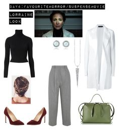 """30 day movie challenge"" by nominjiguur on Polyvore featuring Witchery, Calvin Klein Collection, Acne Studios, Manolo Blahnik and Jil Sander"