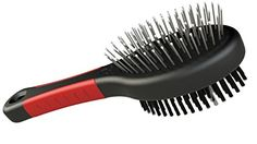 Dog Shedding Tools - Professional Double Sided Pin Bristle Brush for Dogs Cats Use the Dog Grooming Comb to Smooth Their Fur while Removing Dirt and Debri Leaving Your Short Medium or Long Hair Pet with a Shiny Coat -- Want additional info? Click on the image. (This is an Amazon affiliate link)