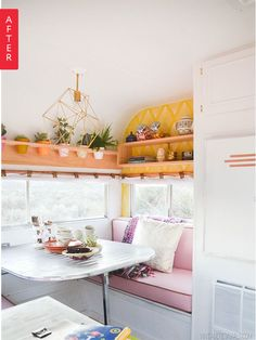 A 1972 Bell Travel Trailer gets an incredible makeover.