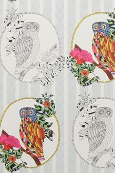 Incredible russian-inspired wallpaper by Stephanie Webb for @Anthropologie