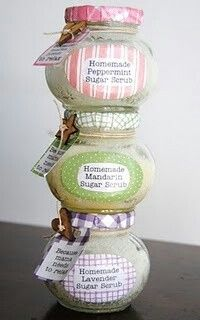 Peppermint, Mandarin e Lavender Sugar