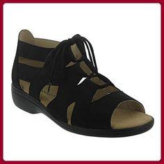 Berkemann Ravenna00607 Damen Sandalen Leder, Schwarz, Größe 38,5 - Sandalen für frauen (*Partner-Link)