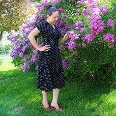 Cake Patterns Tiramisu dress #2 and hemming knits tip