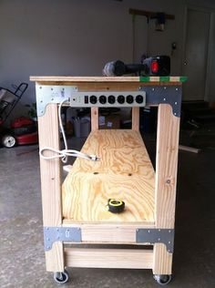How to Build a Heavy Duty Workbench