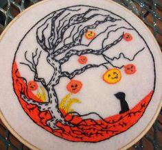 Halloween Tree Hoopla