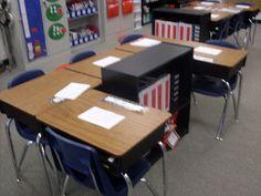 Classroom setup classroom-organization