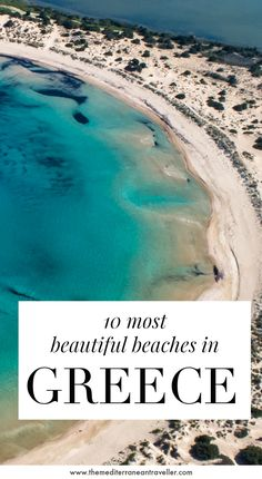 Greece has so amazing beaches - the hardest part is picking one. Here are 10 of the most stunning beaches that you'll find in Greece, from the well-known blockbusters on Crete (Balos, Elafonisos), Kefalonia (Myrtos), and Zakynthos (Navagio) to some lesser known but equally jawdropping beach scenery on the mainland and quieter islands. #greece #greekislands #beach #europe #travel #tmtb Top Travel Destinations, Europe Travel Tips, Amazing Destinations, Places To Travel, Places To Visit, Travel Pics, Travel Guides, Greece Travel, Greece Trip