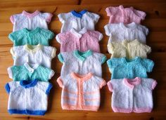 When my girls were young I made lots of clothes for them – dresses, skirts, shorts, tops, pj's, sweaters, cardigans, hats & mitts ...