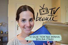 O que tem na minha bolsa (tag) - TV Beauté | Vic Ceridono