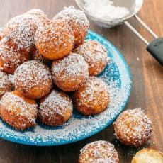 Easy Donut Recipe, Baked Donut Recipes, Fried Donuts, Doughnuts, Russian Tea Cookies, Cream Filled Donuts, Donut Filling, Making Donuts, Donut Holes