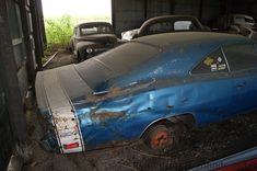 troubled fields   Cars in Barns: The Hemi's on the Farm: Part Two, The 1969 Hemi Charger 500...