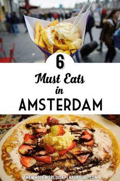Amsterdam Must Eat Pinterest