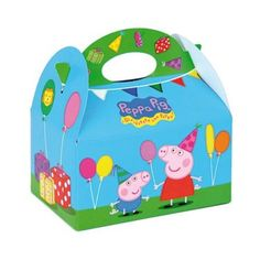 Shop for Peppa Pig Favor Box and other Individual party supplies. The most popular party Supplies and Decorations, all available at wholesale prices!