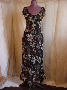 Vtg Dress Nostalgic 1920s 1930s Floral size Small Theater Costume #Unbranded #Dress #seller florasgarden on ebay