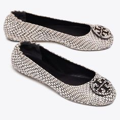 AUTHENTIC and BRAND NEW in BOX *NO DUST BAG* SIZE 9.5 ONLY KING COBRA PATTERN - BLACK WHITE
