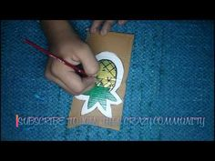 DIY EASY CUTE SUMMERY COASTER l SUN AND PINEAPPLE COASTER l  THE CRAZY C...