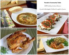 Parade's Community Table ~ 14 Healthy Chicken Dinners Great for Weeknights, Yet Nice Enough for Guests