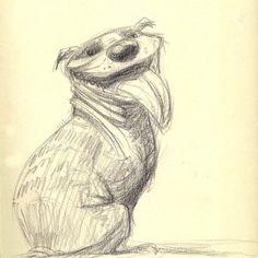 David Colman-Dog character design