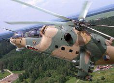 army Czech Republic Air Force Mil Mi 24D...