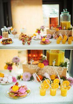 Bridal brunch bar idea @weddingchicks