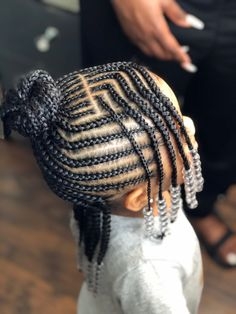 Black Baby Girl Hairstyles, Little Girls Natural Hairstyles, Little Girl Braid Hairstyles, Toddler Braided Hairstyles, Little Girl Braids, Cute Hairstyles For Kids, Braids For Kids, Girls Braids, Little Girl Braid Styles