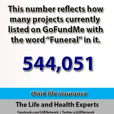 General Insurance Quotes Gofundme Is Not Life Insurance  Better Job  Pinterest  Life .
