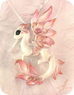 Albino rose dragon by AlviaAlcedo on DeviantArt