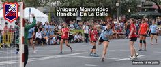 Uruguay, Handball en la Calle, City Hall Montevideo, Street Handball
