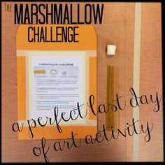 The Marshmallow Challenge | The Bees Knees Cousin