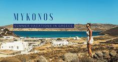 Summer vacations in Mykonos, Greece - Travel Trends Mykonos Island, Mykonos Greece, Greece Vacation, Greece Travel, Best Beaches To Visit, Hidden Beach, Summer Vacations, Pilgrimage