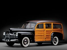 1942 Ford Super Deluxe Station Wagon