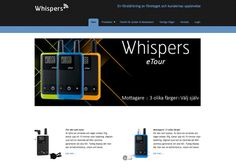 New Webpage online   http://whispers.se/