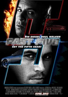Fast Five 11x17 Movie Poster (2011)