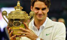 The champion: Roger Federer | Image source: Sporteology.com