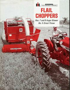 Ih, Choppers, Brochures, Farming, Tractors, Chopper, Motorcycles, Helicopters