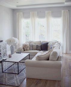 Shoreline Benjamin Moore - living room