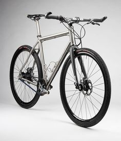 Boston's Firefly Bicycles, FF-217. Lead designer Kevin designed this machine that's at home on the streets in Germany as it is on Iraqi dunes or Texas fire roads. The FF-217 is a modern, military-grade, two-wheeled adventurer.