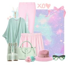 """""""nr 694 / Sweet Pastels ♥♥♥"""" by kornitka ❤ liked on Polyvore featuring Michael Kors, Calypso St. Barth, MANGO, Meli Melo, Maison Michel, Dolce&Gabbana, Jeffrey Campbell, LE VIAN and Henri Bendel"""