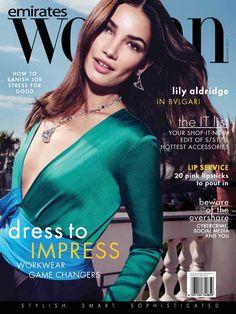 Lily Aldridge - Emirates Woman February 2017 Photoshoots