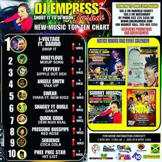 Number 3 in USA Reggae chart