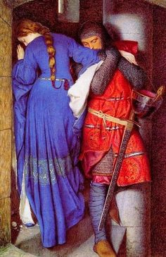 Meeting on the Turret Stairs | Frederick William Burton