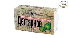 Russian Original Birch Tar Bar Soap Pack of 3 X 4.9oz/140g Nevskij fabric http://www.amazon.com/dp/B007CM5EH8/ref=cm_sw_r_pi_dp_hL-1vb0K85351
