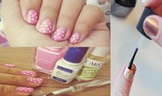 DIY Glitter Nails Art : DIY nail art