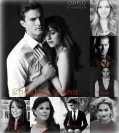 The cast of 50 Shades of Grey