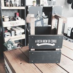 100均木箱で男前な多目的ボックスにリメイク♬|LIMIA (リミア)