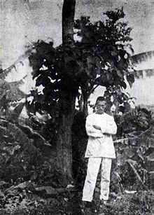 * Self-portrait of Arthur Rimbaud standing in front of a tree in Harar, c. Rimbaud produced his works while still in his late teens, and he gave up creative writing altogether before the age of Writers And Poets, World Of Books, Playwright, Portraits, Book Authors, Love Book, Creative Writing, Selfies, Pin Up