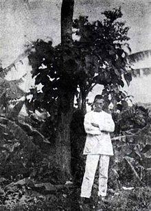 Arthur Rimbaud, self portrait, Harar, 1883